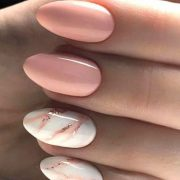 145 Beautiful Marble Nails Design Ideas to Try at Home   See ALL at Lovika...