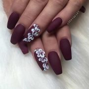 25 Cool Matte Nail Designs to Copy in 2017...