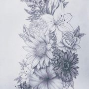 47+ ideas tattoo hip flower hibiscus for 2019