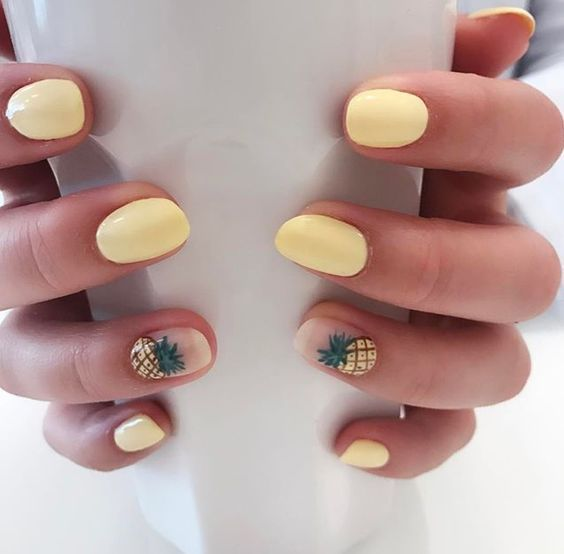 60  Must Try Nail Designs for Short Nails 2018; Short Acrylic Nails; Stylish Nai... pin.2elci.com Best Nails Pin