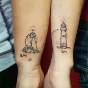 Couple tattoos have a special meaning that connects the loving pair even more #c...