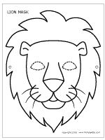 L is for Lion Mask...
