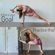 If your goal is this, practice this!