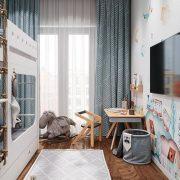 Kids Playroom Area In The Bedroom