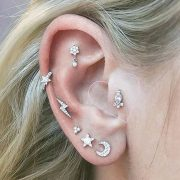 6 Cool-Girl Ear Piercings You'll Want to Get in 2019