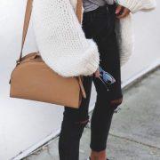 Cozy chunky knit...