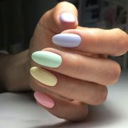 35 Extremely Cute Candy Nail Art Design; Winter Nails; Nails Art; Nails Design; ... pin.2elci.com Best Nails Pin