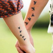 55 Lovely Couple Tattoo Ideas To Show Their Love To The World - Hommade - #Coupl...