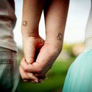 Couple tattoo Pair tattoo Little tattoo pin.2elci.com Best Tattos