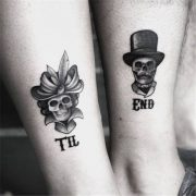 Matching Couple Tattoos Ideas, couple tattoo ideas, couple tattoos, matching cou... pin.2elci.com Best Tattos