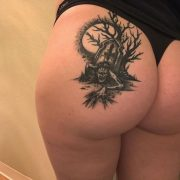 Butt tattoos are prime.  Ass Tattos İdeas - Butt Tatto Models