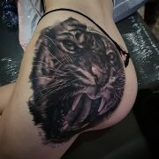 That's a nice Tigerrrr! Great work done by  contact him directly to book in!                ...