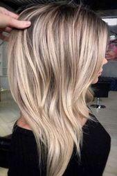 √87 Flattering Balayage Hair Color Ideas for 2019 #haircolor #haircolorideas #...