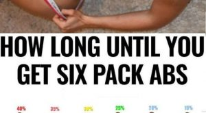 How Long Until You Six Pack Abs