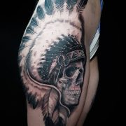 Done this native Indian skull on Eden.                         ...