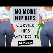 How To Get WIDER AND CURVIER HIPS | Get Rid Of HIP DIPS | SIDE BOOTY Workout At Home