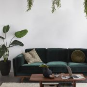 BOHO-STIL: DAS SOFA AUS GRÜNEM SAMT - 6 STILVOLLE OPTIONEN - Home Decor