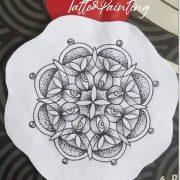 Mandala  15x15cm  disponible, se puede agregar color. Más info vía WhatsApp: 551...