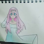 Another OC!  Her name is Sakura Ami She is a Goddess of spirit, she live with hu...