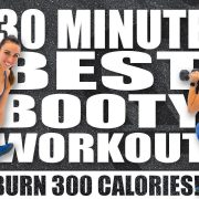 30 Minute BEST BOOTY WORKOUT!🔥BURN 300 CALORIES!*🔥with Sydney Cummings