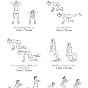 Bubble Butt at Home No Weights Workout · WorkoutLabs Fit