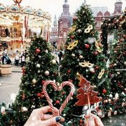 Christmas Aesthetic - Cozy Lights Disney Vintage Christmas Wallpaper Ideas