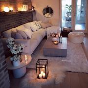42 Sehr gemütliche und praktische Deko-Ideen für das kleine Wohnzimmer - New Ideas