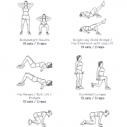 Legs & Butt Toning Workout · WorkoutLabs Fit