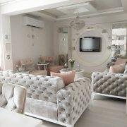 Bu göz alıcı evin dekoru klasiğe modern bir yorum getiriyor.  - 3 | Ev Gezmesi