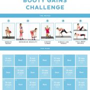 Our 21-Day Booty Gains Challenge Is Here to Build Your Backside