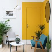 Paint Saint: A Unique Paint Trend That Pops Up Again and Again in Cool Interiors