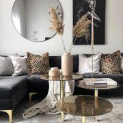 #Gold #havenlylivingroom #schwarz #und #Wohnzimmer bla...