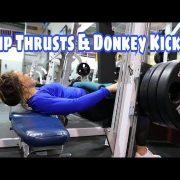 My #1 FAVE booty workout | Hip Thrusts & Donkey Kick Workout