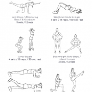 Glute Power House 2 - Home Glute Workout – Mustard Fitness