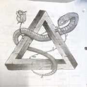 drawing during a physics class • •          ...