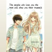 The people who love you the most, will show you their true self. . . . . . . . ....