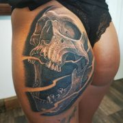 Ass-Tattoo.... One session            ...