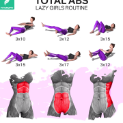 TOTAL ABS WORKOUT FOR A LAZY GIRL