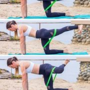 Lazy Girl Booty Circuit with Resistance Bands