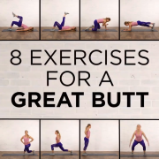 Try this 8 exercises for your booty