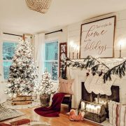 2019 Christmas Farmhouse decor ideas