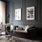 〚 Elegant design of a small apartment in dark shades (56 sqm) 〛 ◾ Photos ◾ Ideas ◾ Design