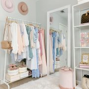BLUSH AND GOLD OFFICE TOUR | Strawberry Chic