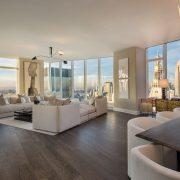 Flatiron's tallest tower reveals its stunning 55th-floor model apartment