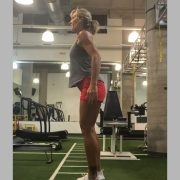 Curtsy Lunges w/side Squat