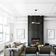 Edgy-meets-elegant luxe loft with industrial swagger | Style at Home